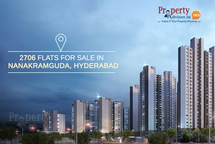 2706 Flats For Sale In Nanakramguda, Hyderabad
