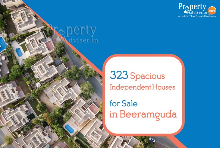 323 Independent Houses for Sale in Beeramguda