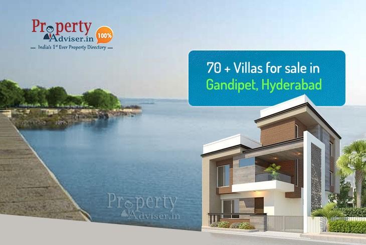 70+ villas for sale in Gandipet, Hyderabad