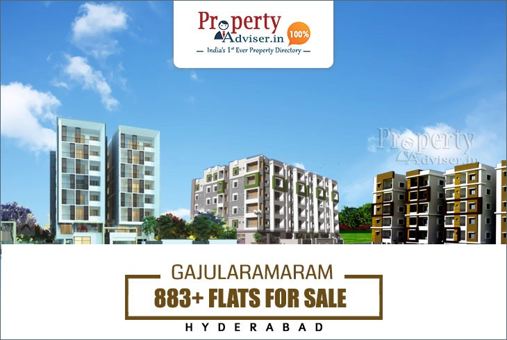 883+ Flats for sale in Gajularamaram, Hyderabad