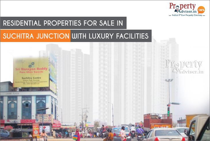 Smart & Affordable Residential Properties for Sale in Suchitra Junction