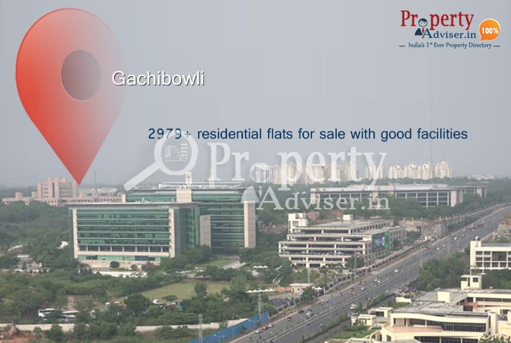 Apartments for sale in Gachibowli near Commercial Space and Shopping Mall