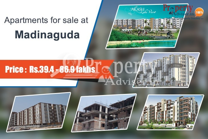 Apartments for sale at Madinaguda, Hyderabad for a classy lifestyle