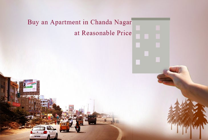 Apartments for sale in Chanda Nagar at Reasonable Prices