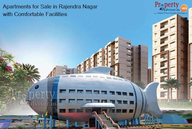 Apartments for Sale in Rajendra Nagar with Comfortable Facilities