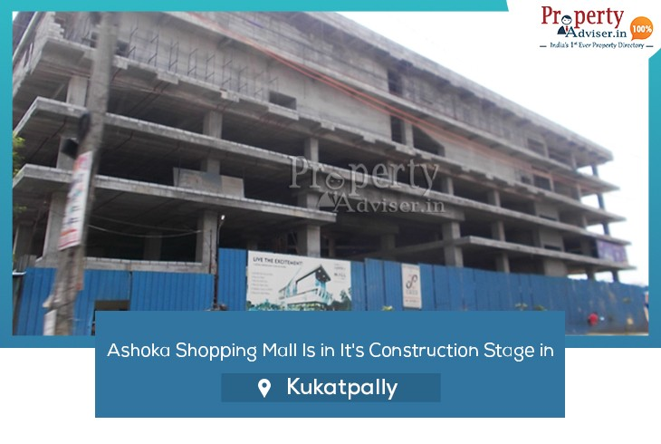 ashoka-shopping-mall-in-it-construction-stage-in-kukatpally