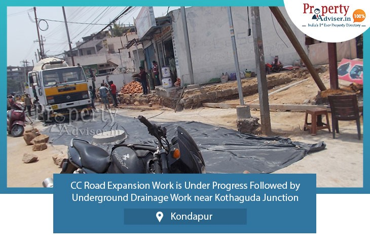 cc-road-work-underground-drainage-work-progress-in-kondapur