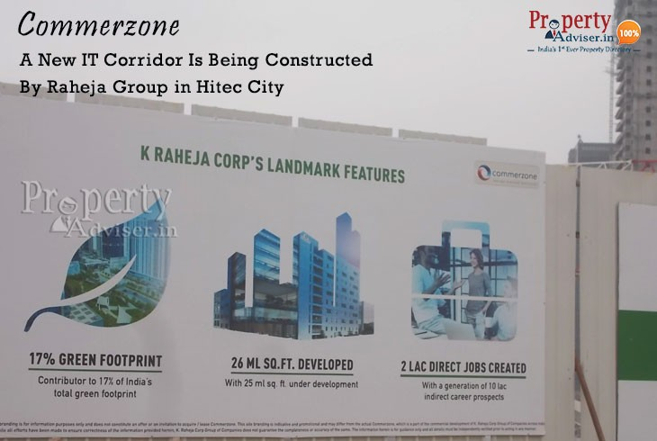 Commerzone A New IT Hub in Hitec City