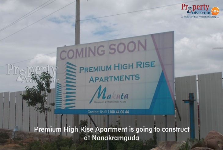 Upcoming Premium High Rise Apartment in Nanakramguda