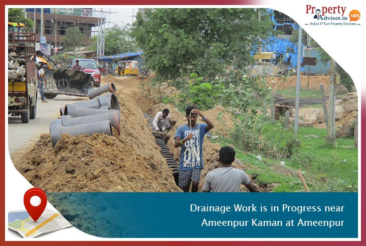 drainage-work-is-in-progress-near-ameenpur-kaman