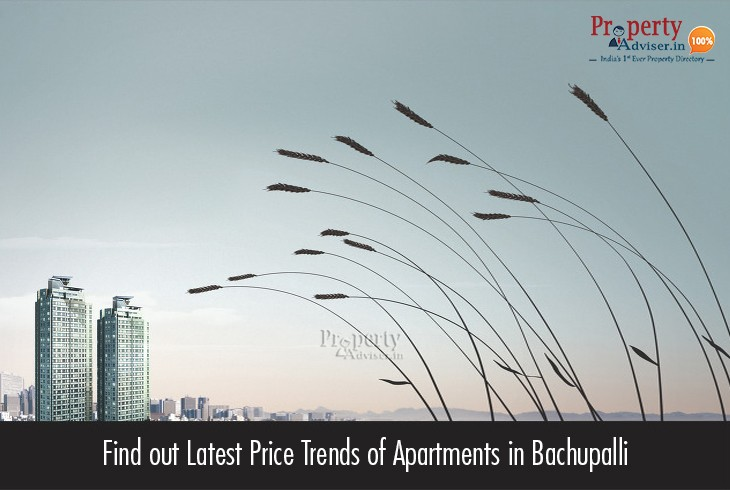 Find out Latest Price Trends of Apartments in Bachupalli