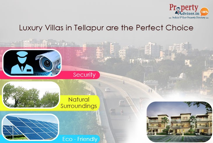 Luxury Villas For Sale in Tellapur