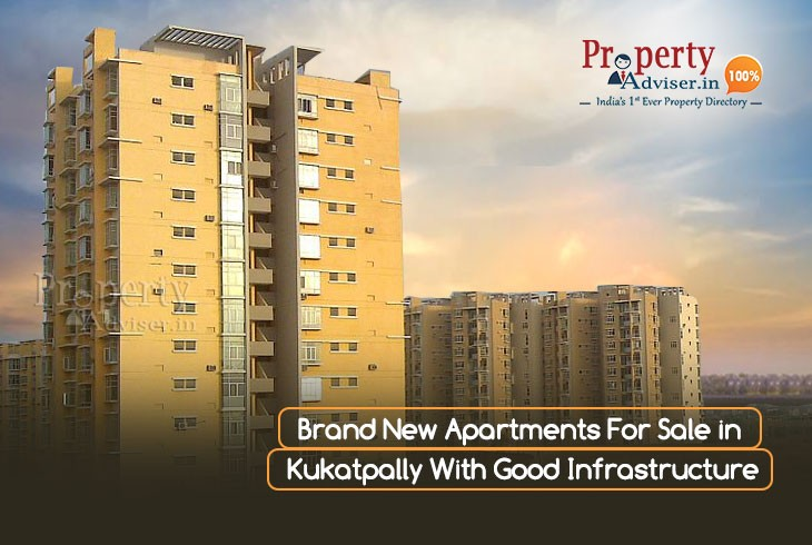 Brand New Apartments for Sale in Kukatpally with Good Infrastructure