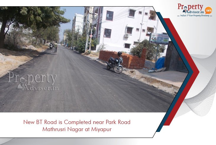 new-bt-road-is-in-its-completing-stage-at-miyapur