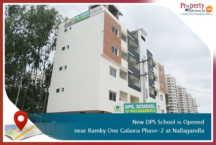 new-dps-school-is-opened-near-ramky-one-galaxia-phase-2-at-nallagandla