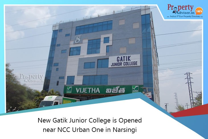 new-gatik-junior-college-opened-near-ncc-urban-one-narsingi