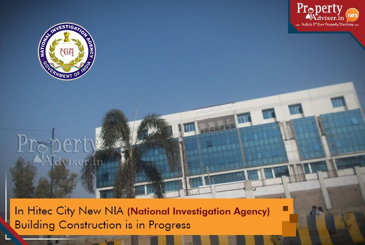 Upcoming New National Investigation Agency Building in Hitec City