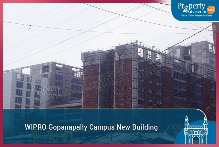 New Wipro Campus in Gopanpally Tanda