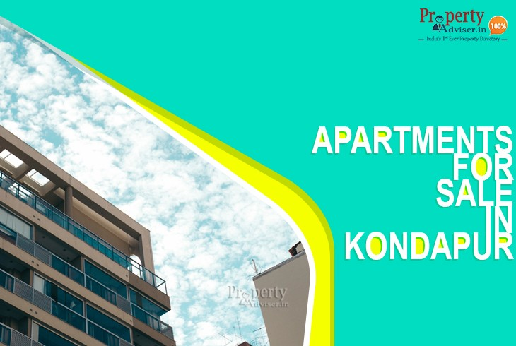 Newly Constructed Apartments for Sale in Kondapur
