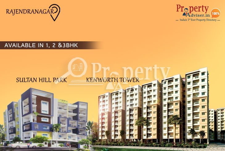 Well designed newly constructed apartments for sale at Rajendra Nagar, Hyderabad