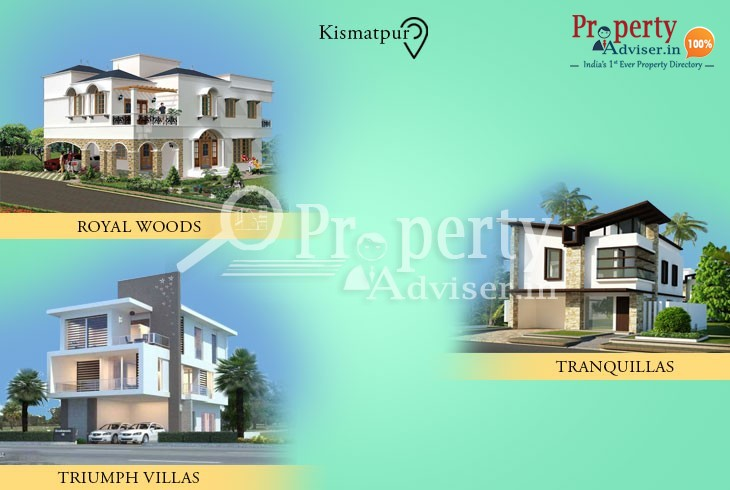 Residential Properties for sale at Kismatpur with comfortable Facilities