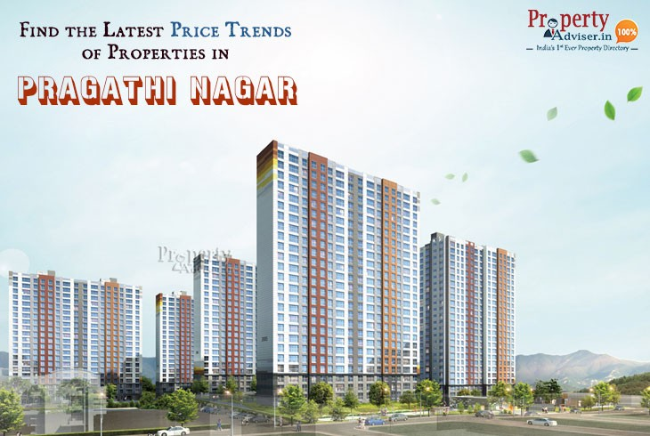 Real Estate Analysis - Find the Latest Price Trends of Properties in Pragathi Nagar