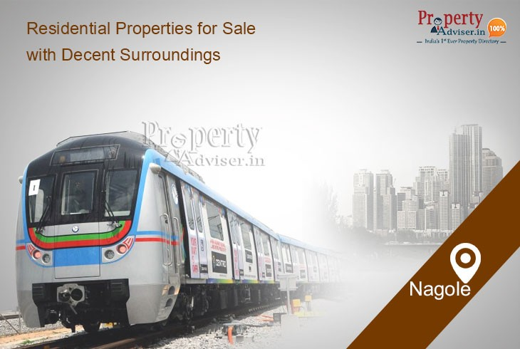 Residential Properties In Nagole For Sale with Decent Surroundings