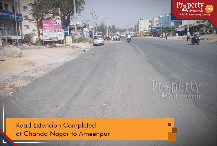 road-extension-plan-completed-chandanagar-to-ameenpur