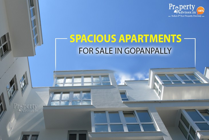 Spacious Apartments For Sale In Gopanpally