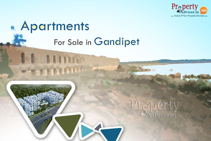 Spacious Gated Community Flats for Sale in Gandipet