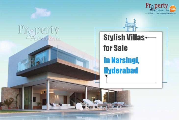 Stylish Villas for Sale in Narsingi, Hyderabad