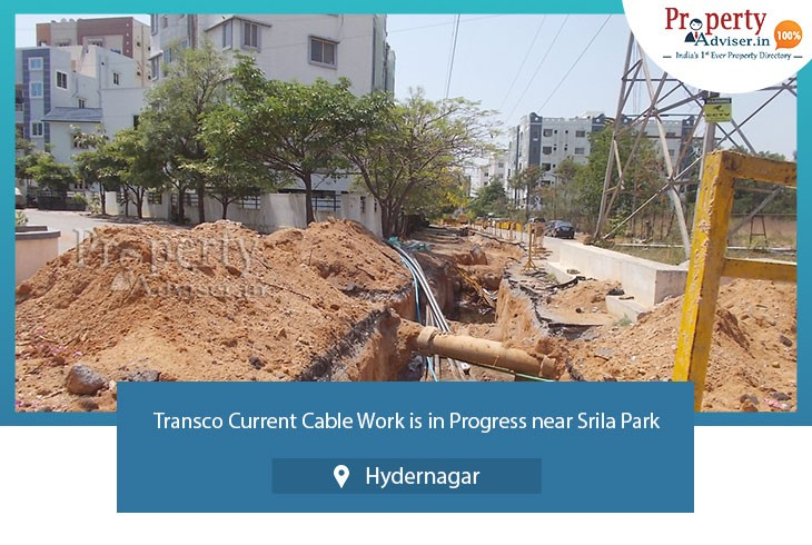 transco-current-cable-work-in-progress-near-srila-park-hydernagar
