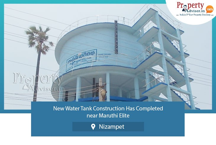 water-tank-construction-completed-maruthi-elite-at-nizampet