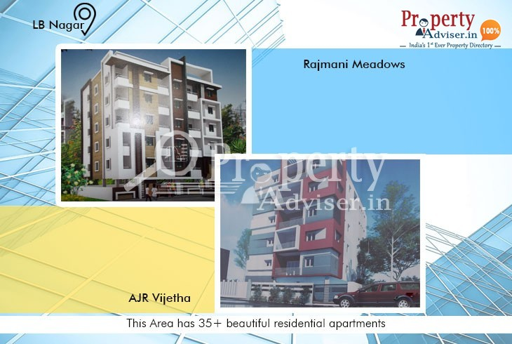Well Designed Apartments for Sale at LB Nagar, Hyderabad