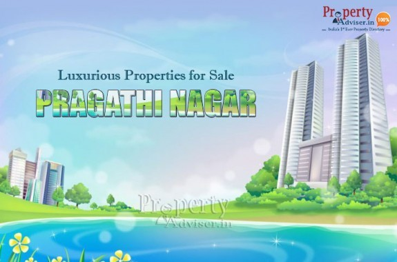 Spacious and Elegantly designed Apartments for sale in Pragathi Nagar