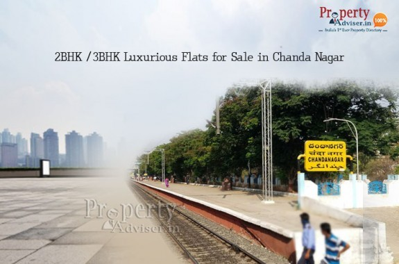 2BHK and 3BHK Luxurious Flats for Sale in Chanda Nagar