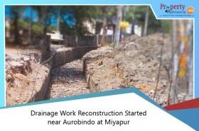 drainage-work-reconstruction-started-near-aurobindo-at-miyapur