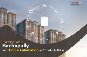 Flats for sale in Bachupally with Home Automation at Affordable Price