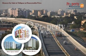 Gated Community Houses for Sale in Tellapur