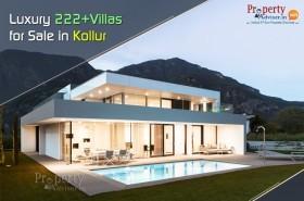 Luxury 222+ Villas for Sale in  Kollur, Hyderabad