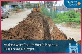 manjeera-water-pipeline-work-balaji-enclave-mallampet