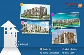 Residential Apartments for Sale at Madinaguda with Comfortable Facilities