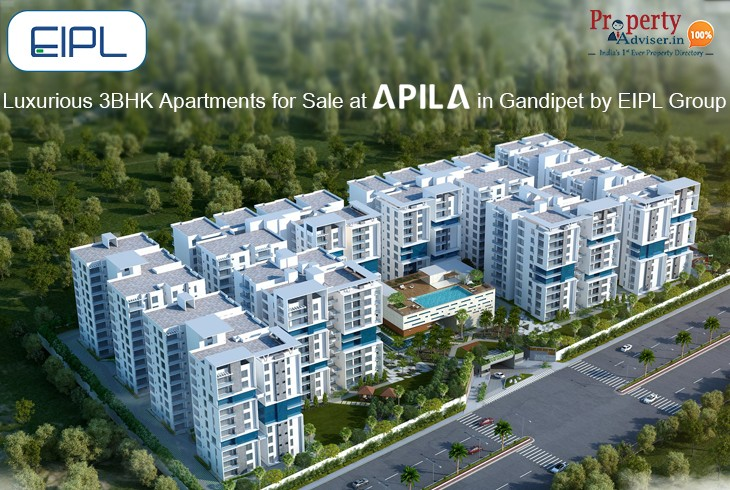 Luxurious 3BHK Apartments for Sale at Apila in Kokapet