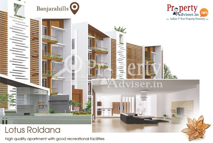 3BHK Flats for Sale at Banjara Hills with Luxurious Facilities
