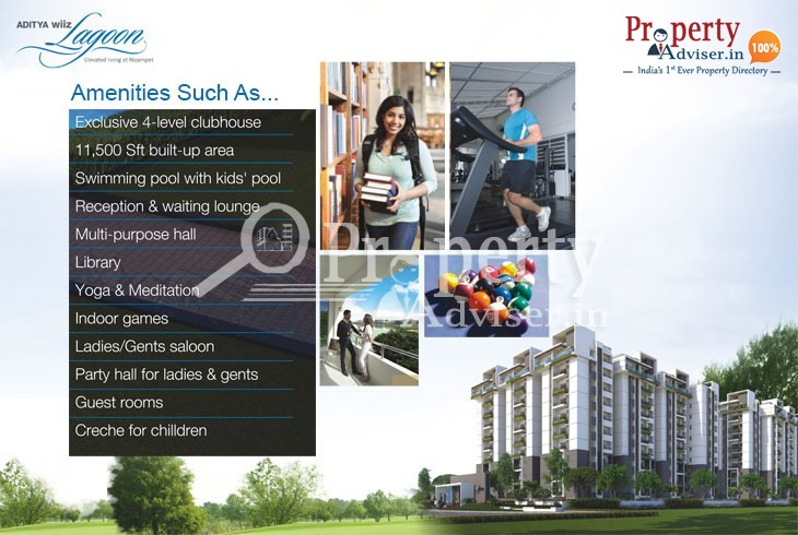 3BHK Flats for Sale at Nizampet with Quality Living Facilities