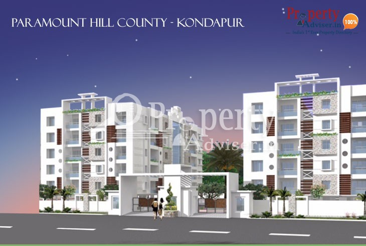 Spacious 3BHK Flats for Sale in Kondapur