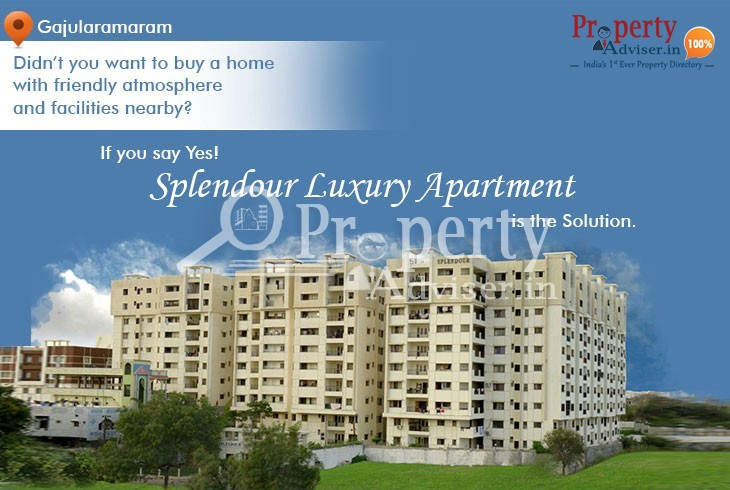 3BHK Flats for Sale in Splendour Luxury Apartment at Gajularamaram, Hyderabad