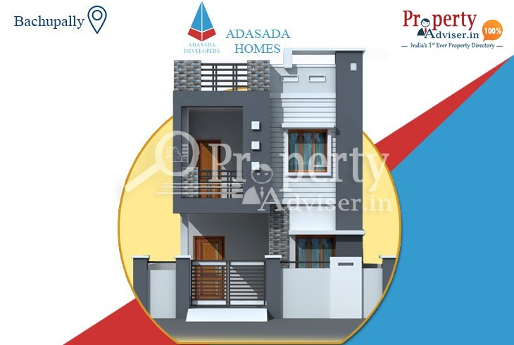 3BHK  Independent Villa for Sale in Bachupally with Good Facilities