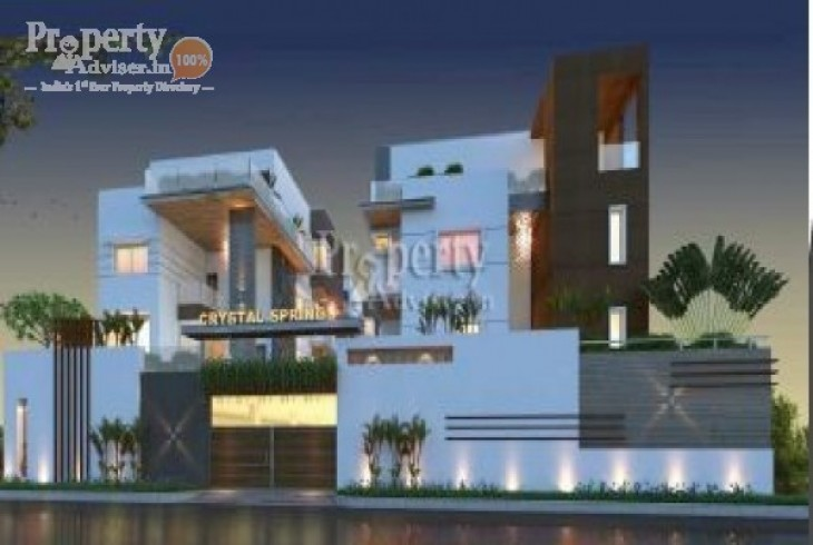 Abinandana Crystal Springs in Manikonda updated on 05-Jul-2019 with current status