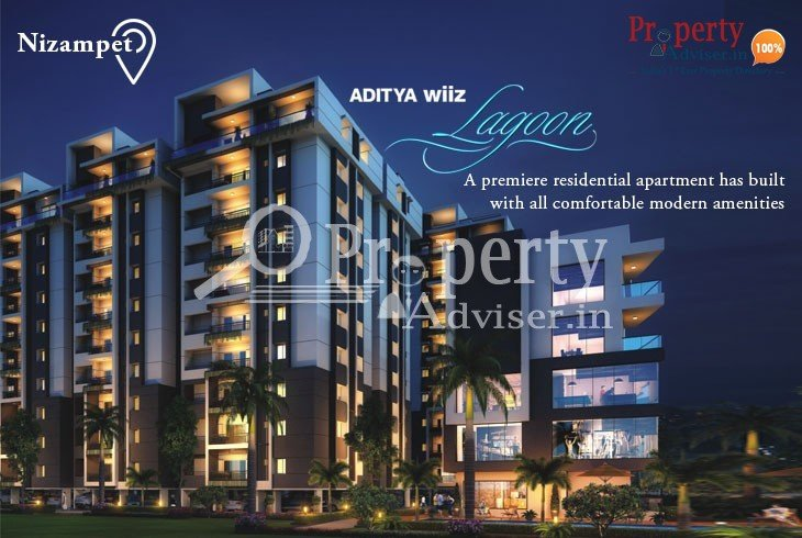 Buy a Flat in Aditya Wiiz Lagoon at Nizampet to Have a Great Comfortable Life